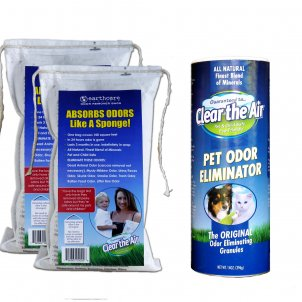 Small Animal Odor Eliminator Bundle