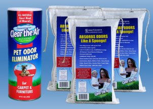 Trash Can Odor Eliminator Bundle