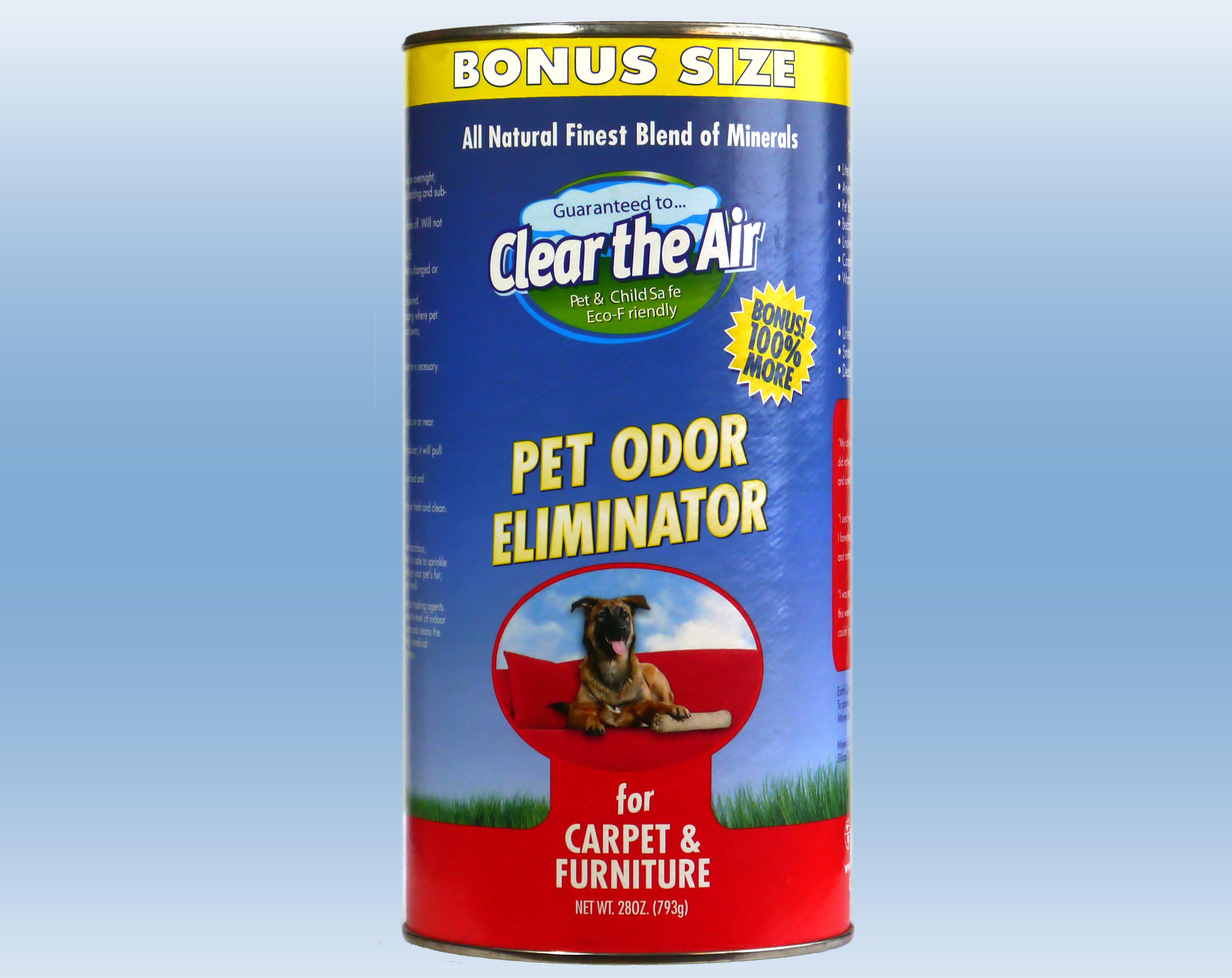 Carpet Odor Eliminator Furniture Odor Remover Pet Urine